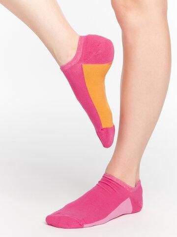 Tip na dárek Malinově růžové ponožky do tenisek Cukřík