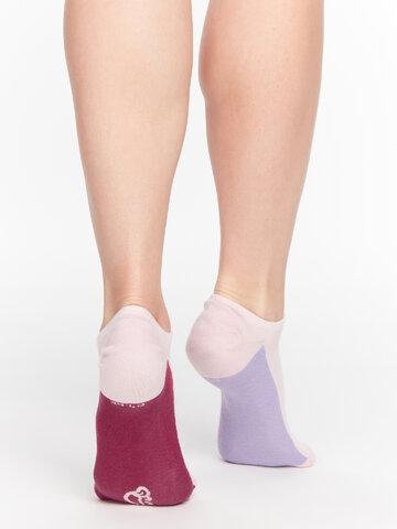 Výprodej Pastelově růžové ponožky do tenisek Cukřík