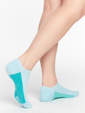 pro dokonalý a originální outfit Světlemodré ponožky do tenisek Cukřík