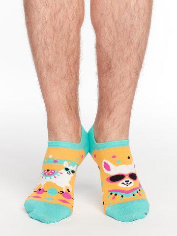 Hľadáte originálny a nezvyčajný darček? Obdarovaného zaručene prekvapí Calcetines sneakers alegres Llama divertida