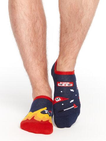 Potešte sa týmto kúskom Dedoles Wesołe skarpetki do sneakersów Strażak
