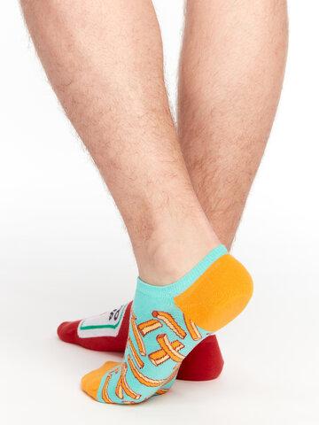 Potešte sa týmto kúskom Dedoles Calcetines sneakers alegres Patatas fritas con kétchup
