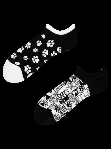 Suchen Sie ein originelles und außergewöhliches Geschenk? überrascht den Beschenkten sicher Lustige Sneakersocken Katzenpfoten