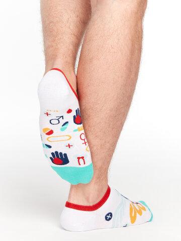 pro dokonalý a originální outfit Veselé ponožky do tenisek Zdraví