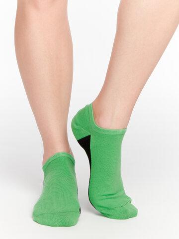 Výjimečný dárek od Dedoles Zelené ponožky do tenisek Pata