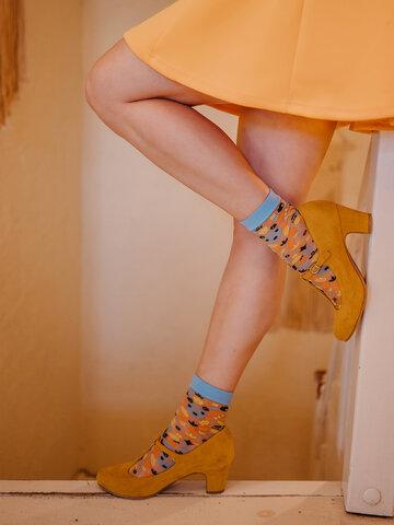 Zľava Živahne najlonske nogavice Ljudsko okrasje