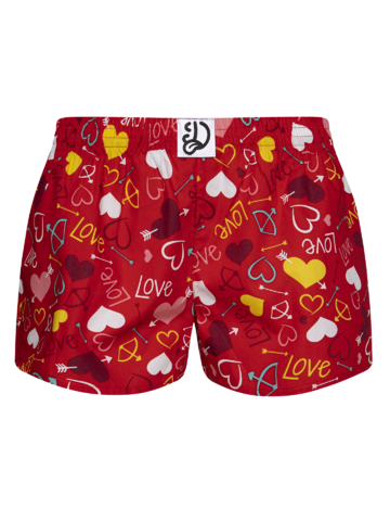 pentru outfit-ul perfect Boxeri Veseli Clasici pentru Femei Inimi
