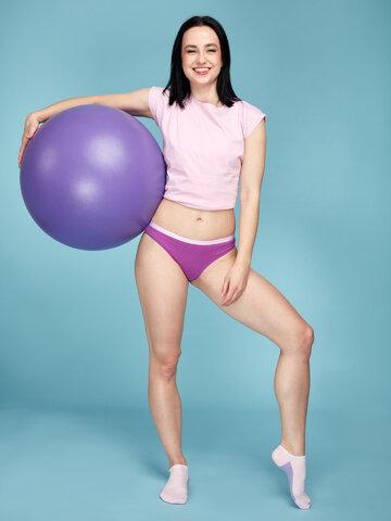 Ausverkauf Hyazinthenviolette Höschen für Frauen