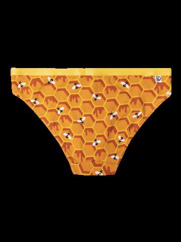 Potěšte se tímto kouskem Dedoles Veselé dámské kalhotky Včelí plást