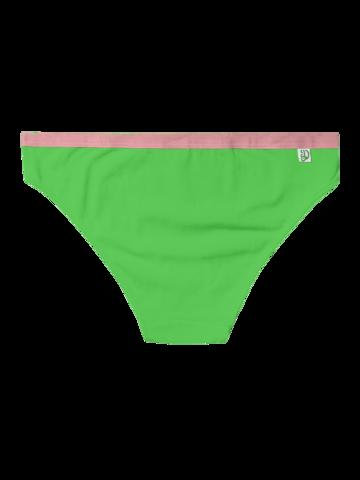 Tip na darček Neónovo zelené dámske nohavičky