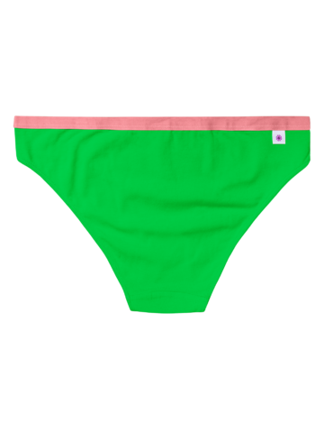 Sale Neon Green Women's Briefs