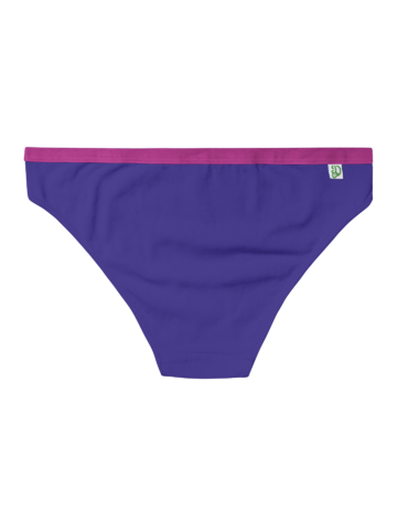 Looking for an original and unusual gift? The gifted person will surely surprise with Indigo Purple Women's Briefs