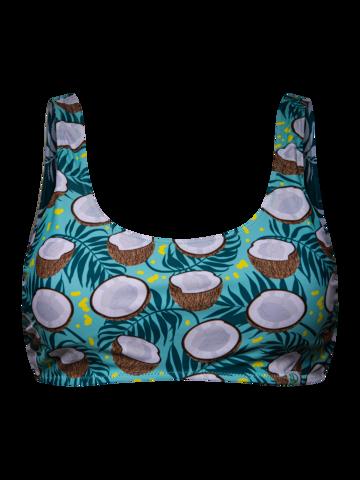 Obrázok produktu Veseli sportski gornji dio bikinija Kokos