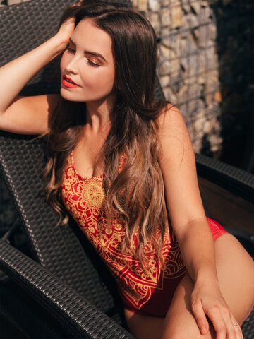 Looking for an original and unusual gift? The gifted person will surely surprise with Women's One-piece Swimsuit Mandala