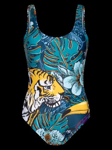 Gift idea Women's One-piece Swimsuit Tropical Jungle
