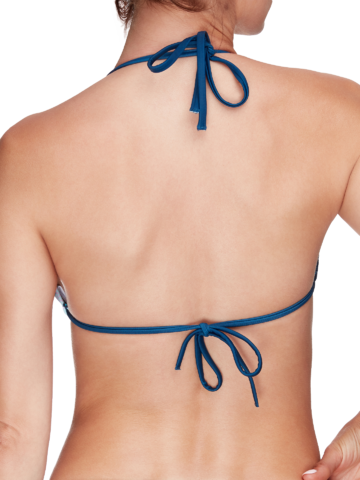 Original gift Triangle Bikini Top Underwater