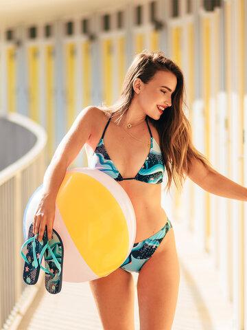 Sale Triangle Bikini Top Underwater