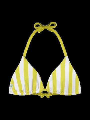 Pre dokonalý a originálny outfit Wesoły trójkątny top od bikini Słonecznik