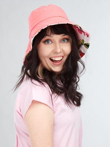 Výpredaj Sombrero alegre de pescador para mujer Mariposas de colores