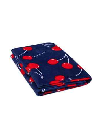 Pre dokonalý a originálny outfit Round Beach Towel Cherries