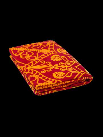 Výnimočný darček od Dedoles Živahna okrogla brisača za plažo Mandala