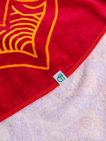Tip na darček Živahna okrogla brisača za plažo Mandala