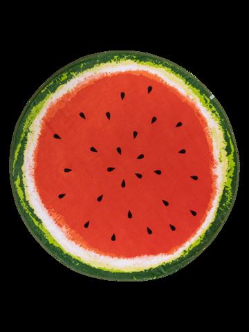 Obrázok produktu Veselý okrúhly plážový uterák Svieži melón