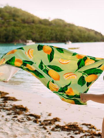 Potešte sa týmto kúskom Dedoles Beach Towel Lemons