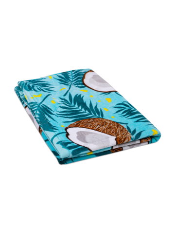 Výnimočný darček od Dedoles Veselý plážový uterák Kokosový orech