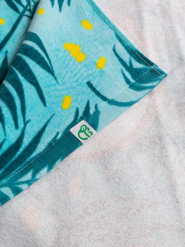 Tip na darček Veselý plážový uterák Kokosový orech