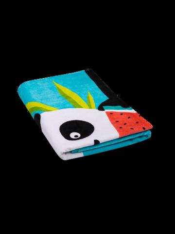 pro dokonalý a originální outfit Veselý plážový ručník Panda na dovolené