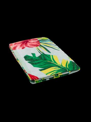 Pre dokonalý a originálny outfit Veselý plážový uterák Tropické kvety