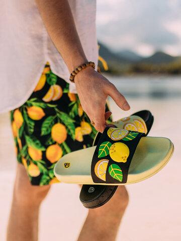 Lifestyle foto Ciabatte Buonumore Limoni