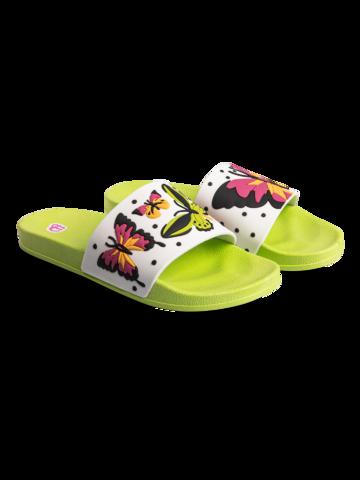 Výprodej Veselé pantofle Barevní motýli
