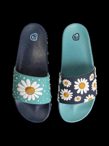 pro dokonalý a originální outfit Veselé pantofle Květ sedmikrásky