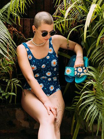 Výprodej Veselé pantofle Květ sedmikrásky