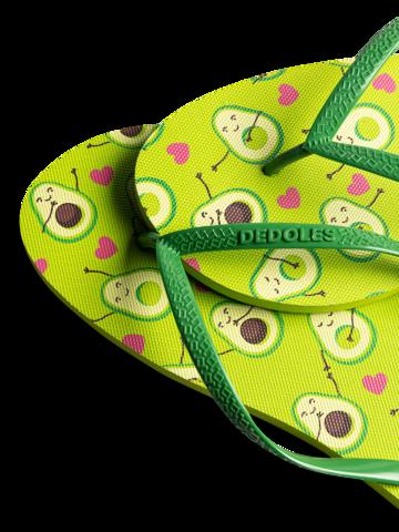 pro dokonalý a originální outfit Veselé žabky Avokádová láska