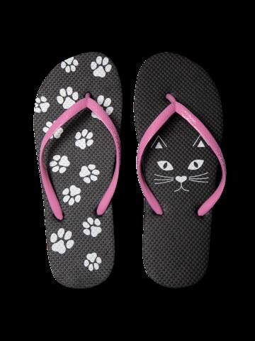 Original gift Flip Flops Kitty