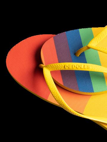 Potešte sa týmto kúskom Dedoles Infradito Buonumore Righe arcobaleno