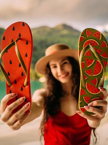 Sale Flip Flops Fresh Watermelon