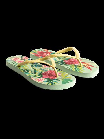 Lifestyle foto Veselé žabky Tropické kvety