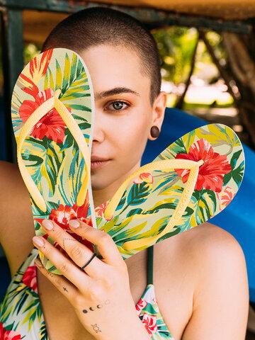 Obrázok produktu Veselé žabky Tropické kvety