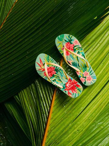 Výpredaj Veselé žabky Tropické kvety
