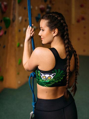 Pre dokonalý a originálny outfit Živahni športni modrček Lemur