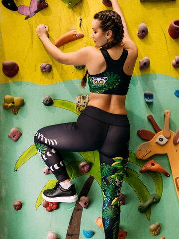 Potešte sa týmto kúskom Dedoles Živahni športni modrček Lemur
