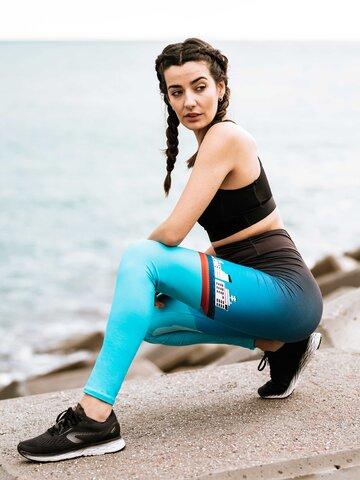 Tip na darček Vrolijke high-waisted leggings IJsberg