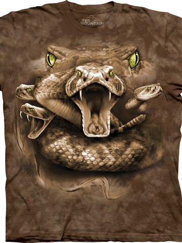 Lifestyle fotó Kígyó szemek póló