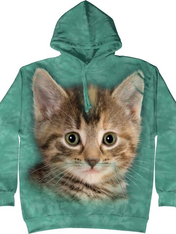 Foto Sweatshirt mit Kapuze Kätzchen