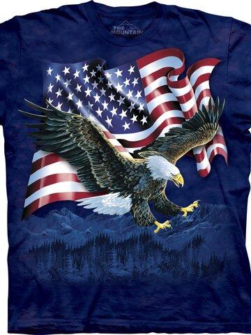 pro dokonalý a originální outfit Tričko Orlí dráp s vlajkou