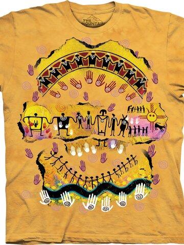 Geschenk von Dedoles T-Shirt Wir sind alle miteinander verbunden